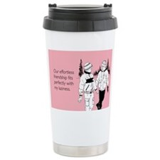 Effortless Friendship Stainless Steel Travel Mug