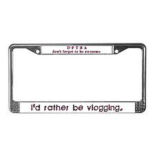 Vlogger's Plate Frame