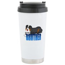 Australian Shepherd Brother Travel Mug