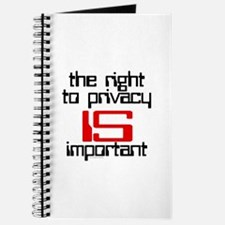 Privacy is important Journal