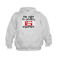 Privacy is important Hoodie