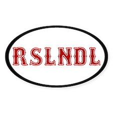 Roslindale Decal