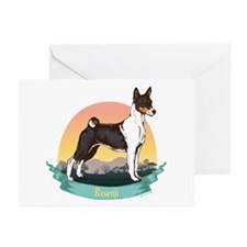 Basenji: Banner Series Greeting Cards (Pk of 20)