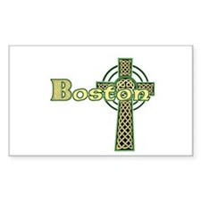 Boston Celtic Cross Decal