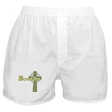 Boston Celtic Cross Boxer Shorts