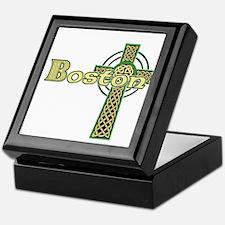 Boston Celtic Cross Keepsake Box