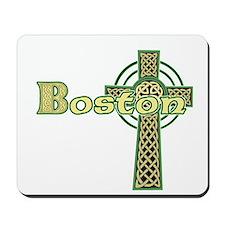 Boston Celtic Cross Mousepad