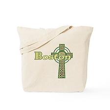Boston Celtic Cross Tote Bag