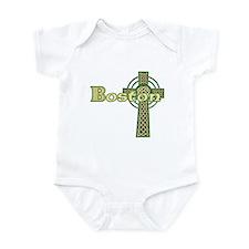 Boston Celtic Cross Infant Bodysuit