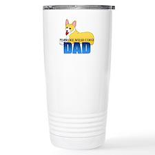 Pembroke Welsh Corgi Dad Travel Mug