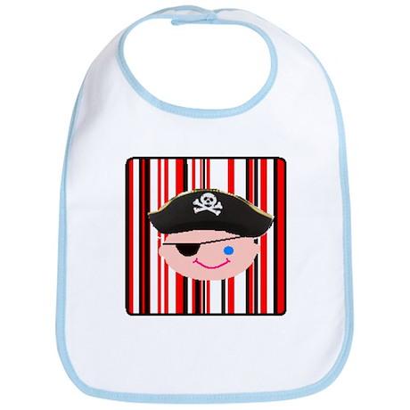 Cute Party Pirate Bib