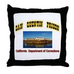 San Quentin Prison Throw Pillow
