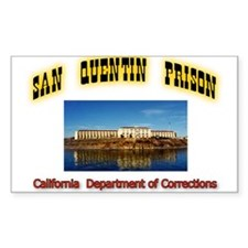 San Quentin Prison Decal