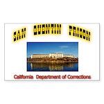 San Quentin Prison Sticker (Rectangle 50 pk)