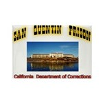 San Quentin Prison Rectangle Magnet (10 pack)