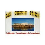 San Quentin Prison Rectangle Magnet