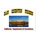 San Quentin Prison Postcards (Package of 8)