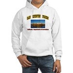 San Quentin Prison Hooded Sweatshirt