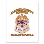 Alameda County Coroner Small Poster