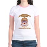Alameda County Coroner Jr. Ringer T-Shirt
