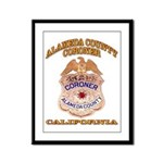 Alameda County Coroner Framed Panel Print