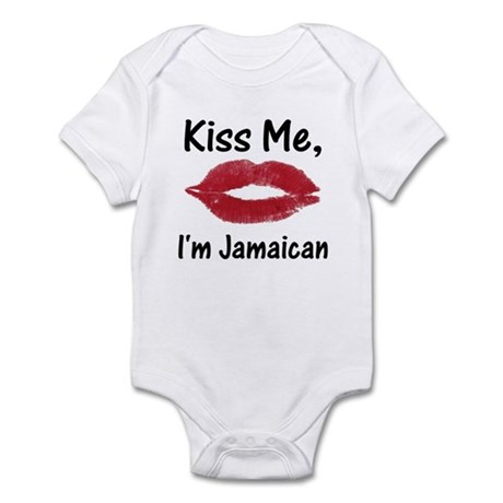 Kiss me, I'm Jamaican Infant Creeper