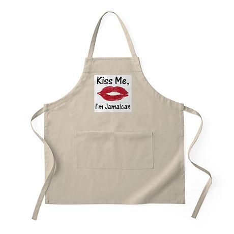 Kiss me, I'm Jamaican BBQ Apron