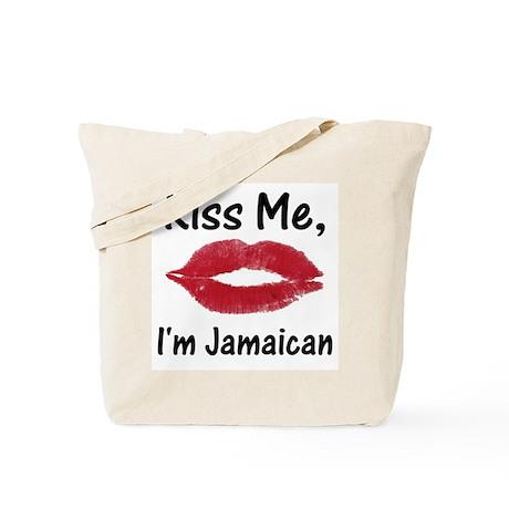 Kiss me, I'm Jamaican Tote Bag
