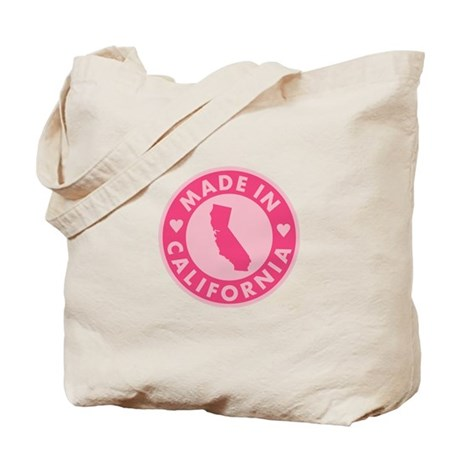 Made in California - Pink Tote Bag