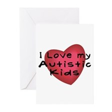 I Love...Kids Greeting Cards (Pk of 10)