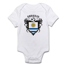 Uruguay Football Infant Bodysuit
