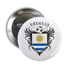 "Uruguay Football 2.25"" Button"