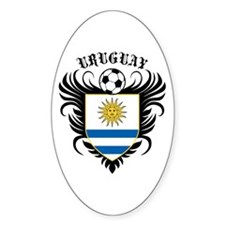 Uruguay Football Decal