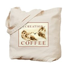 The Creation of Coffee Tote Bag