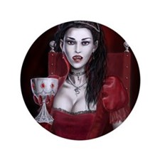 "Blood Countess 3.5"" Button"