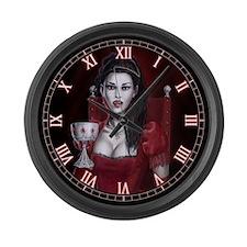 Blood Countess Large Wall Clock