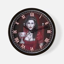 Blood Countess Wall Clock