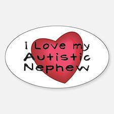 I Love...Nephew Sticker (Oval)