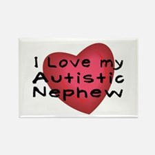 I Love...Nephew Rectangle Magnet (10 pack)
