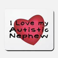 I Love...Nephew Mousepad