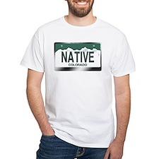 """""""NATIVE"""" Colorado License Plate Shirt"""
