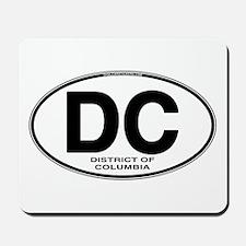 DC Euro Oval Mousepad