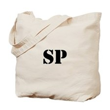 Suppressive Person Tote Bag