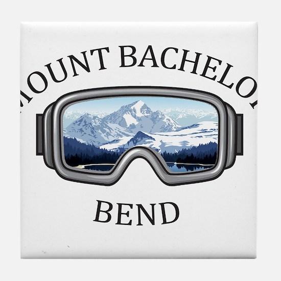 Mount Bachelor - Bend - Oregon Tile Coaster