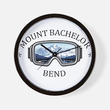 Mount Bachelor - Bend - Oregon Wall Clock