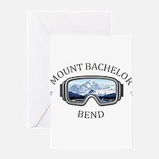 Mount Bachelor - Bend - Oregon Greeting Cards