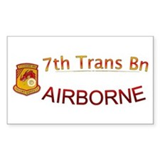 7th Transportation Bn Decal