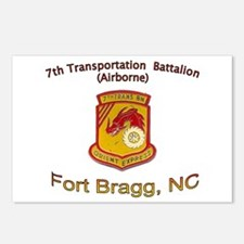 7th Transportation Bn Postcards (Package of 8)