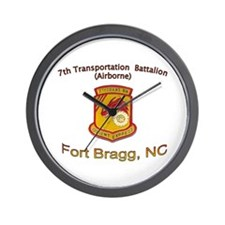 7th Transportation Bn Wall Clock