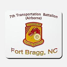7th Transportation Bn Mousepad